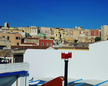 Boatstyle Double Rooftop Seaview - Cagliari