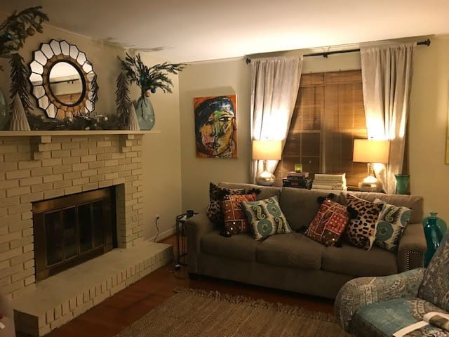 Upscale Art-Filled Small Home