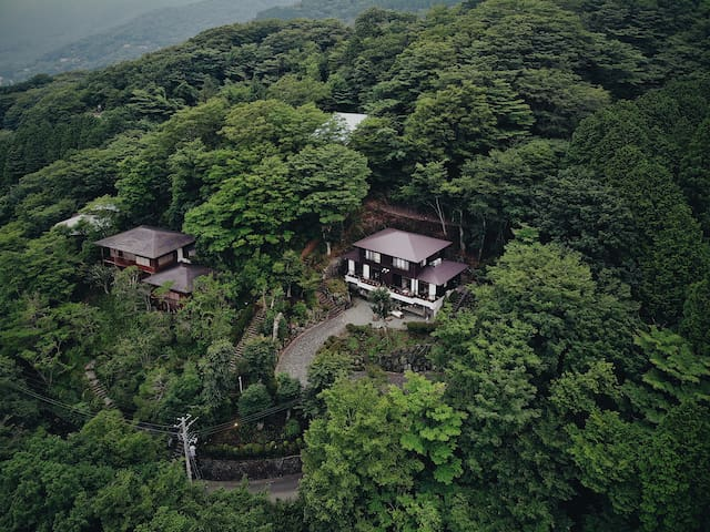 ★星空の丘~Forest~ Hakone 2-Storey Private Nature Villa