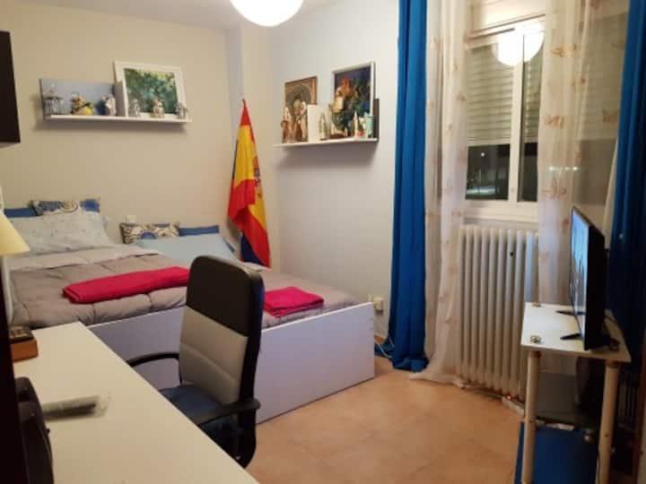 Habitación acogedora en la sierra de Madrid