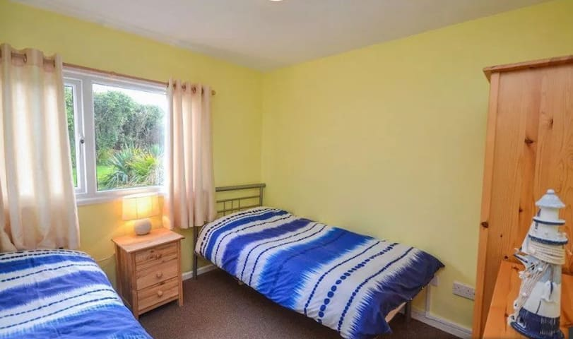 Cosy  twin bedroom ideally suited to children