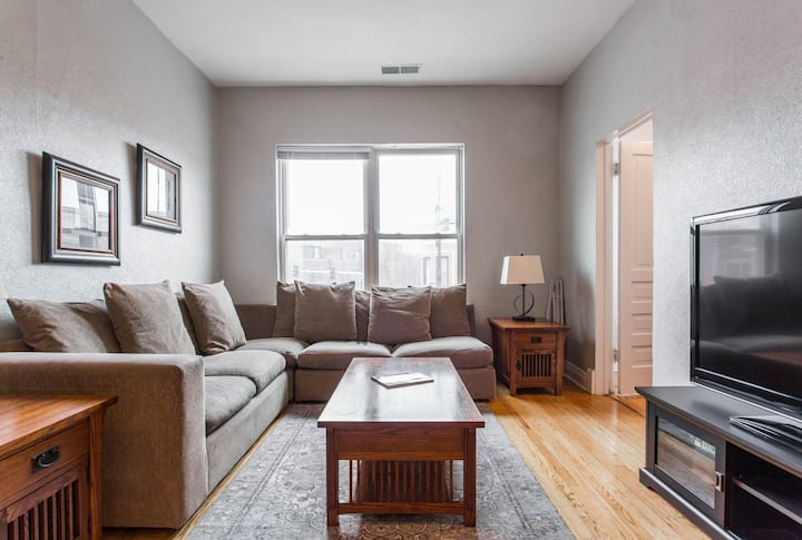 Beautiful Wrigleyville Apartment