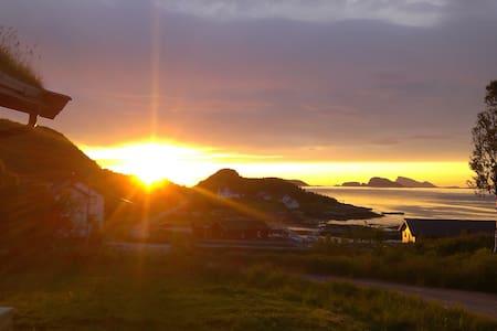 Laukvik Senja - Laukvik på Senja i Lenvik kommune Troms fylke, Nord-Norge - Cabin