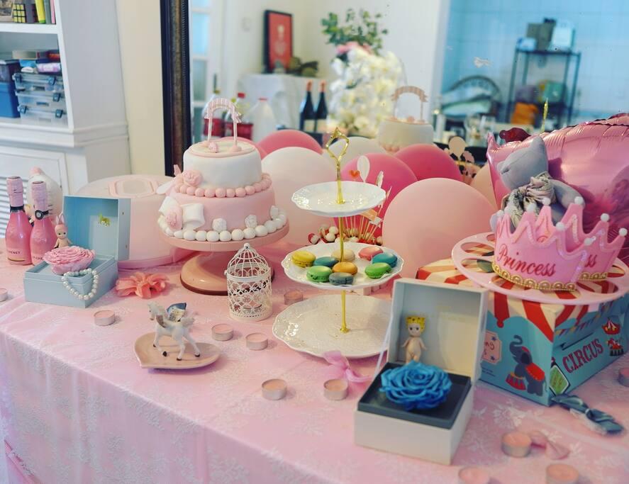 生日甜品台(需提前预定)