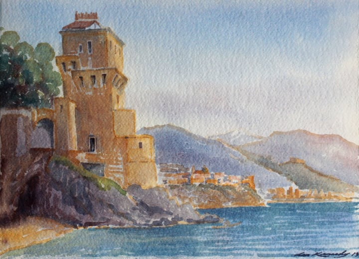 Castel of Cetara
