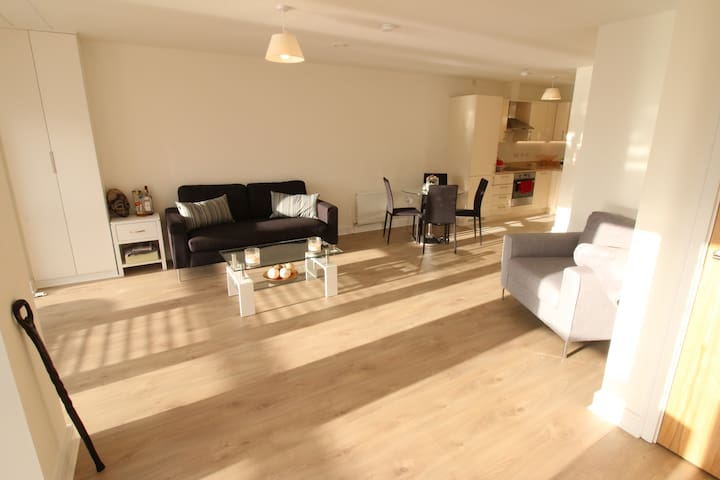Luxury Penthouse Apartment with Ensuite Double Bed
