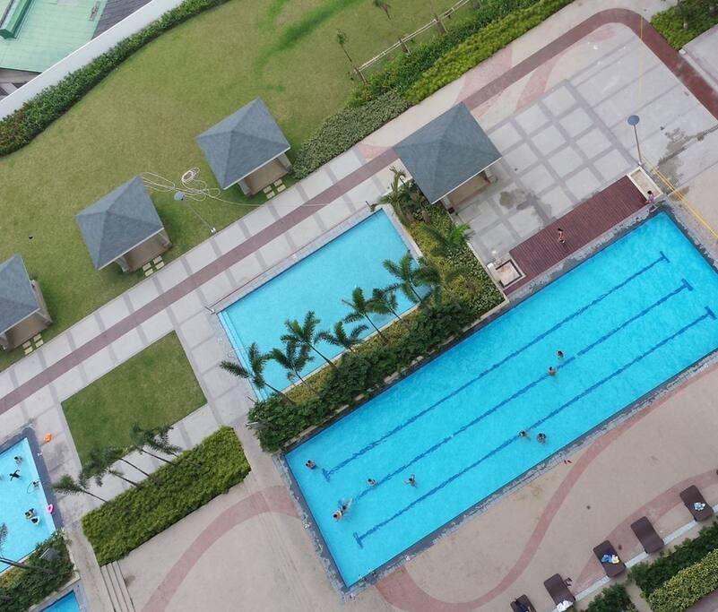 Swimming Pool at Amenities Area