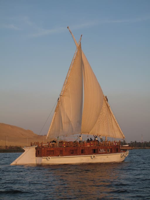 Am lia boats for rent in luxor luxor governorate egypt for Luxor baths