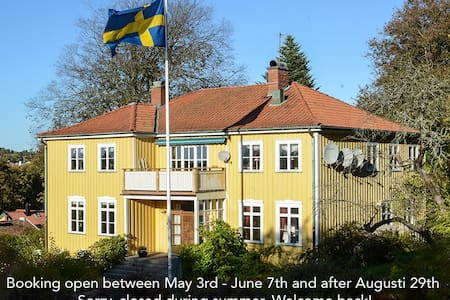 Art and antiques in beautiful Strömstad. - Strömstad - Квартира
