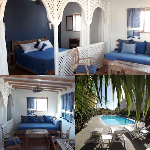 Suite Chems avec Terrasse et Piscine à Essaouira