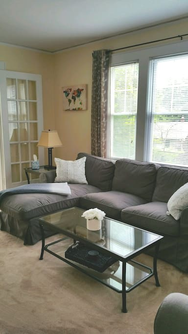 Full Living Room w/chaise sofa