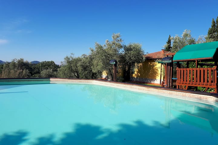 Spacious Holiday Home in Bolano with shared Pool