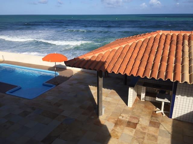 Acorde com o barulho Mar - Barra de São Miguel - Talo