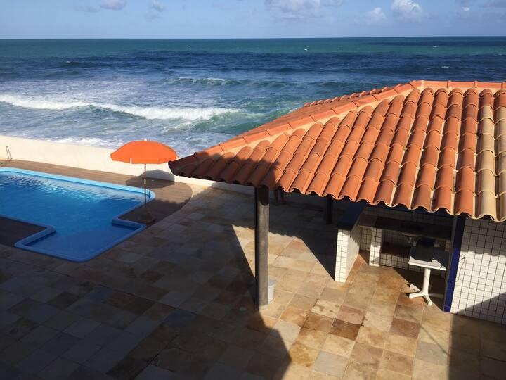 Acorde com o barulho Mar da Barra de São Miguel