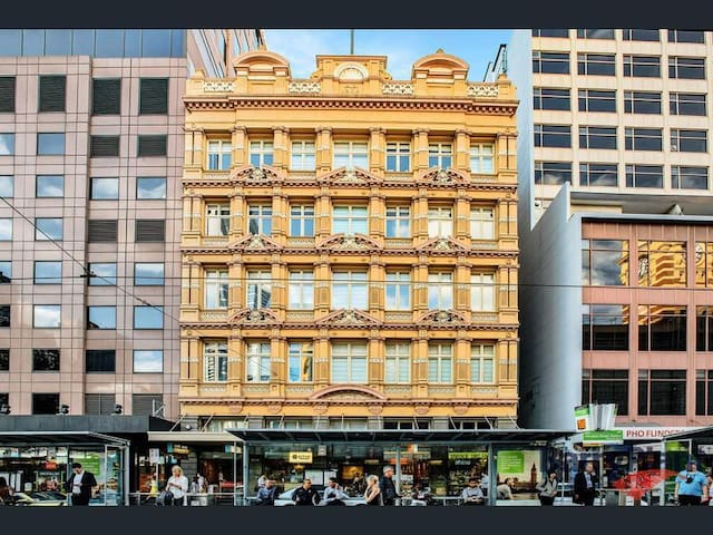 Iconic heritage - listed building
