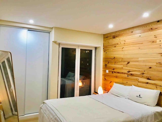 Double Room + private WC + 40'' TV + balcony