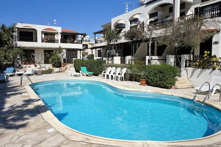 Ibiscus Gardens, 1Bed, Kato Pafos, by beach & bars