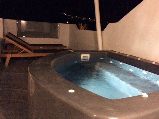 Almyra Petite Suite with outdoor Hot Tub