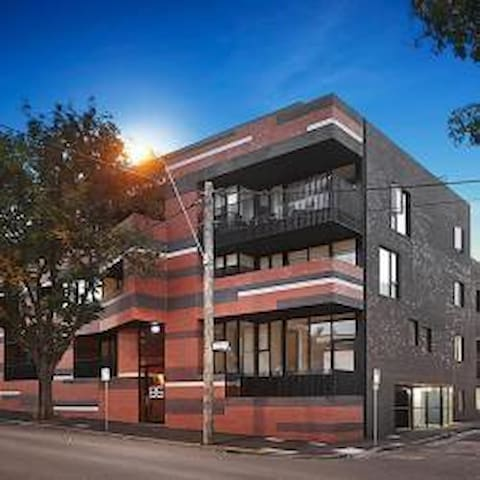 Stylish, modern inner city apartment - North Melbourne - Daire