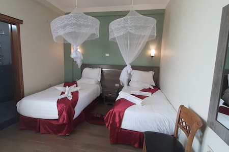 Teferi Mekonnen Hotel  Twin Bed Room