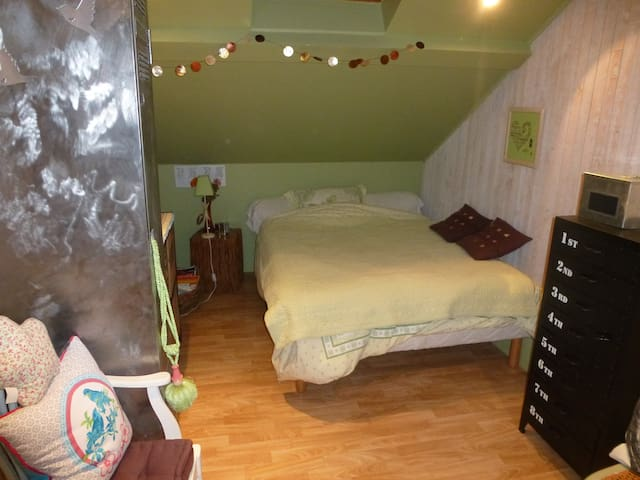 Chambre dans belle maison ancienne - Montbéliard - Huis