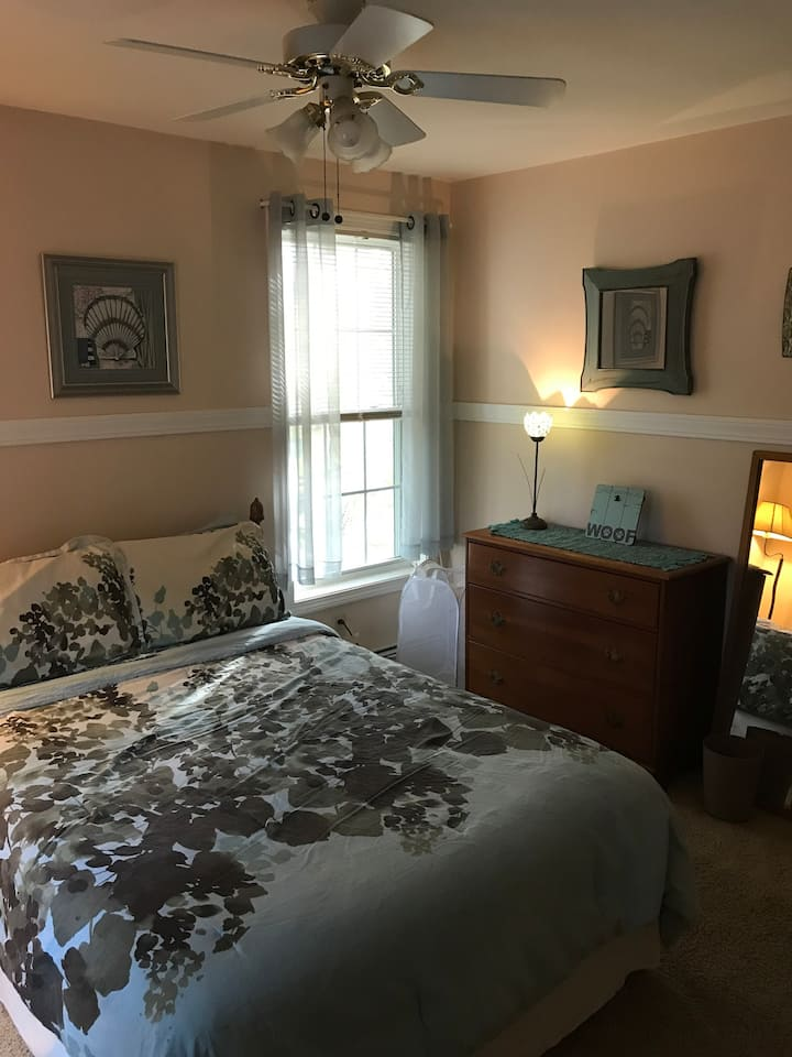 Quiet & Comfortable Two-Floor Newmarket, NH Home
