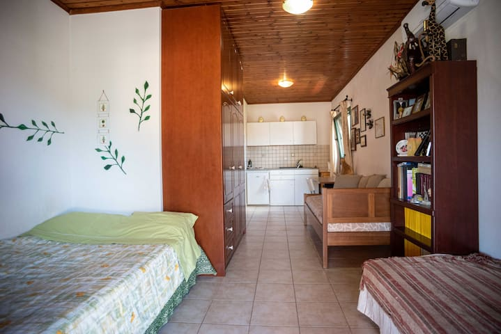 Full privacy cosy room near Athens and airport