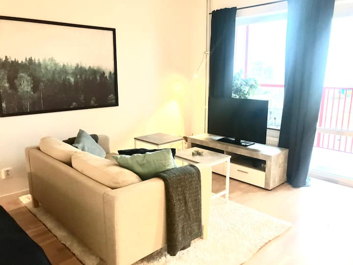 Modern apartment only 15 minutes from city center
