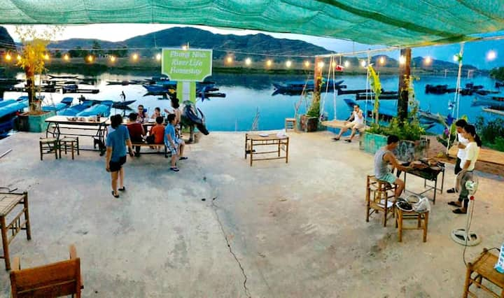Phong Nha Riverlife- Family Room With River View