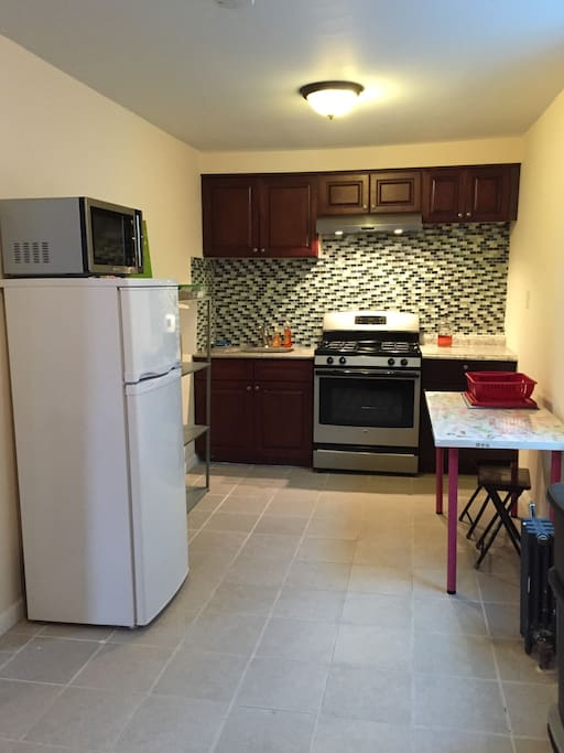 Large Separate Kitchen