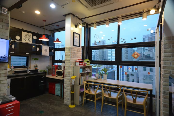 Sinchon/Hongdae - Private Single room A7 - Mapo-gu - Hospedaria
