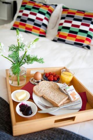 Sfeervolle ruimte aan het water vlakbij Leeuwarden - Wirdum - Bed & Breakfast