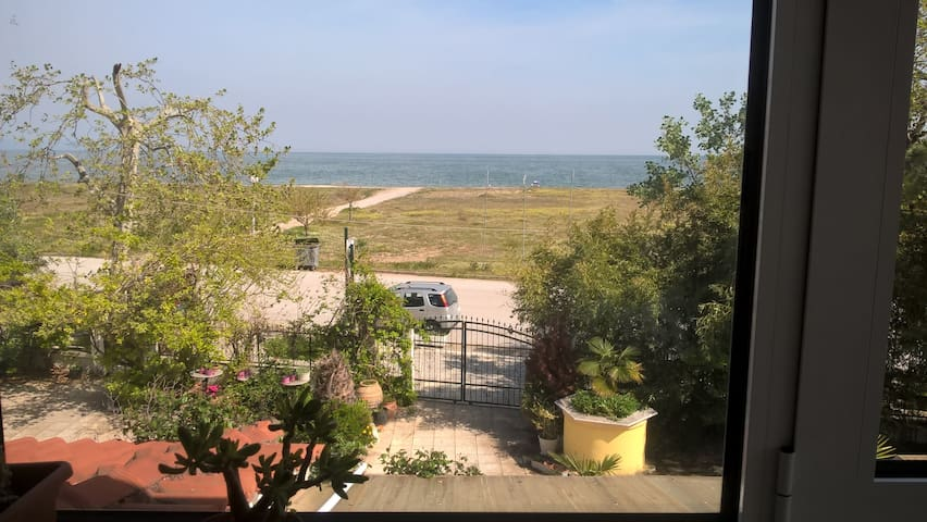 Oceanview from the 2nd floor living room