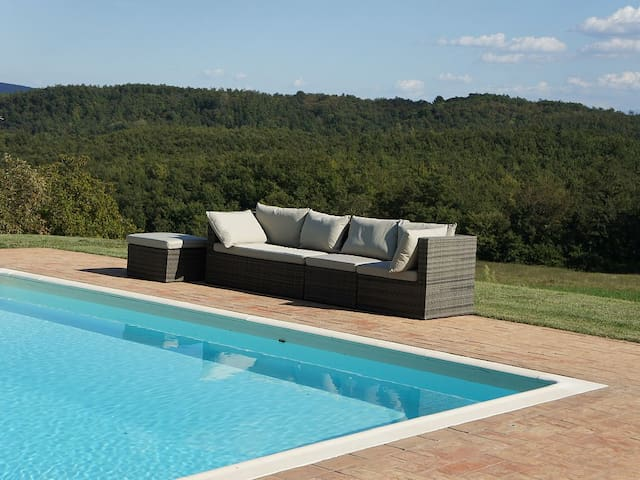 Quercione perfect for 2 with pool - Montalcinello - Wohnung