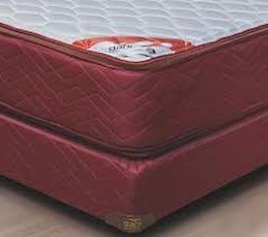 Colchon red-spring resortes c/pilow c/sommier / mattress springs and mattress encapsulated