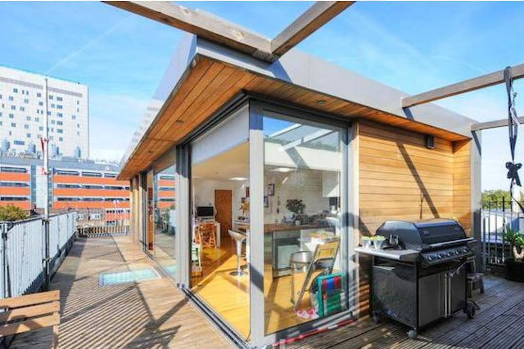 Large bedroom in amazing penthouse east london - Penthouse paddington londres en angleterre ...