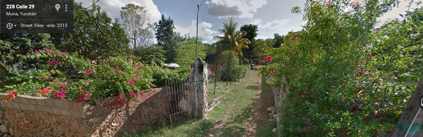 Country house with panoramic view , near uxmal. - Muna