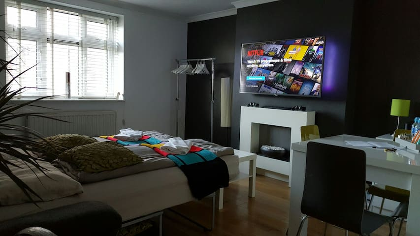 Private Living Room, Smart TV, PS3! - Londra