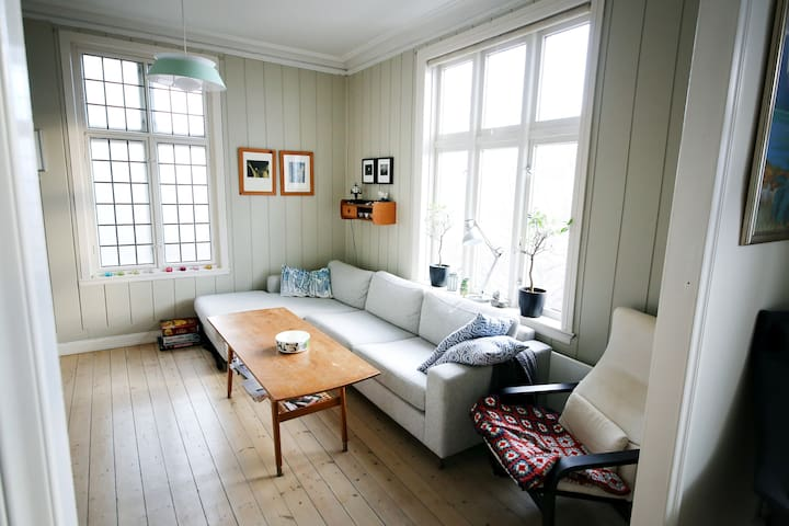 Central flat with panorama+balcony! - Bergen - Pis