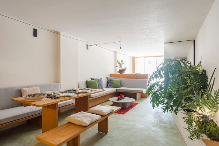 Cool and charming loft where Condesa and Roma meet