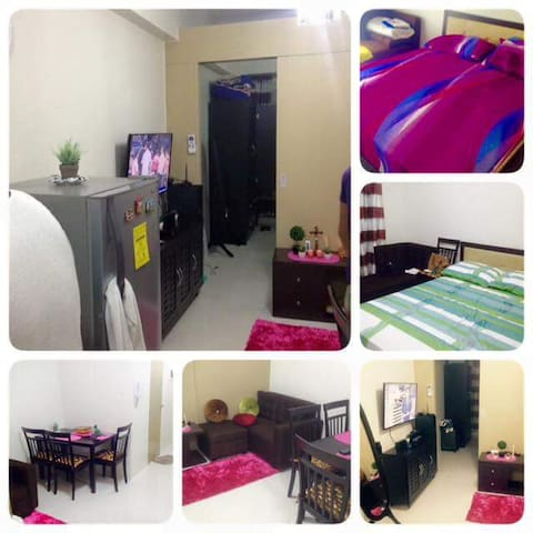 1BR condo- a quiet place to relax with cable TV - Tagaytay - Apartment