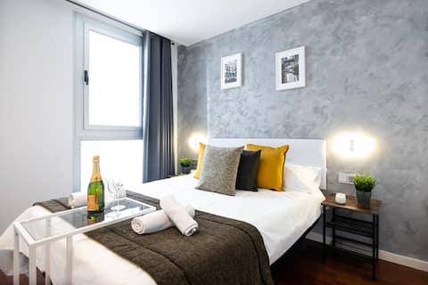 N1- Full Equipped Room with En Suite Bathroom