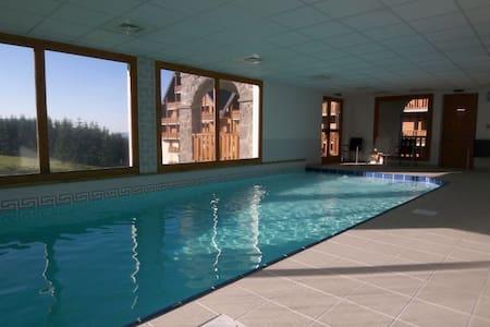 Super Besse T3*** 6P + TERRASSE 15m2 SUD + PISCINE - Besse-et-Saint-Anastaise - Apartment-Hotel