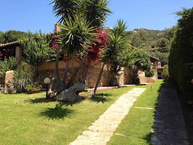 Exclusive villa at 50 meters from a sandy beach !