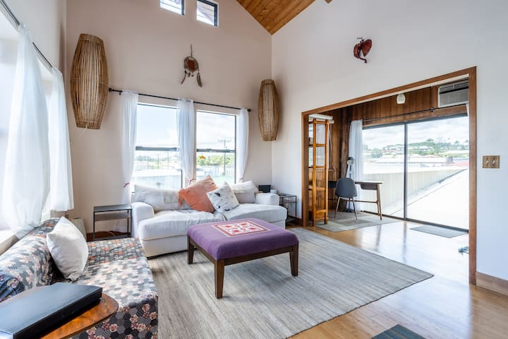 The Loft – Penthouse Apartment in Downtown Hilo