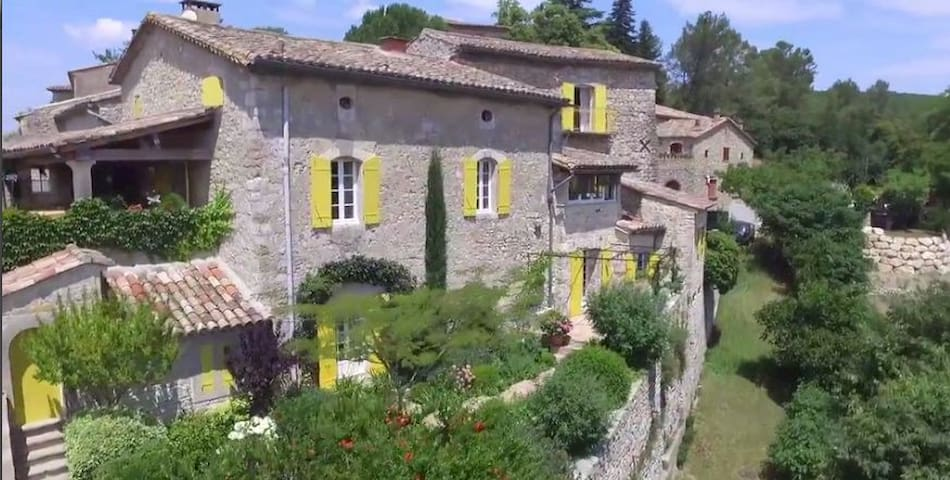 Place with lots of charm Room Viola near Avignon! - Saint-Just-et-Vacquières - อพาร์ทเมนท์