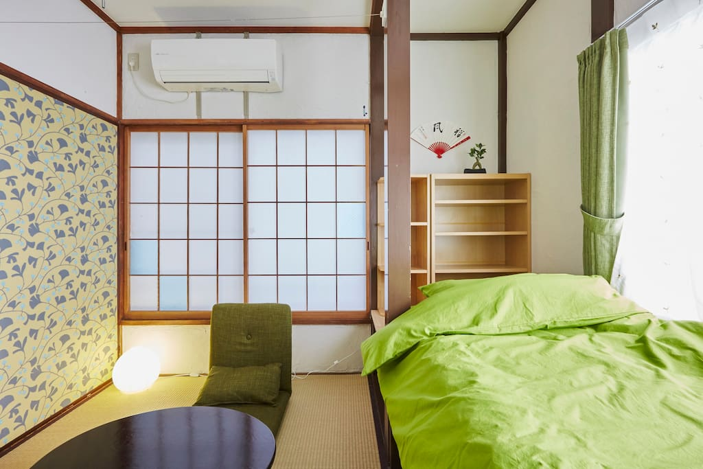 japanese style tatami room with loft bed room205 maisons louer shinjuku ku t ky to japon. Black Bedroom Furniture Sets. Home Design Ideas
