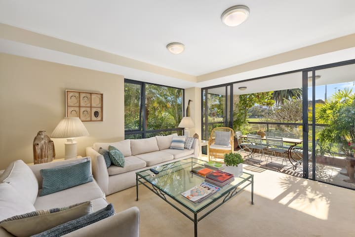 Sunny Apartment on Sydney Harbour - Rushcutters Bay - Apartemen