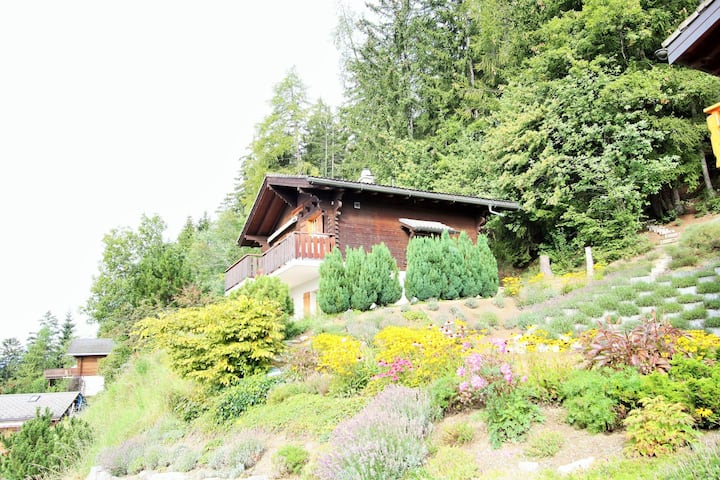 Comfortable 6-pers. chalet 2 km. from Anzere