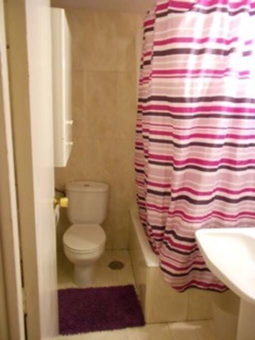 Tu baño privado y ducha